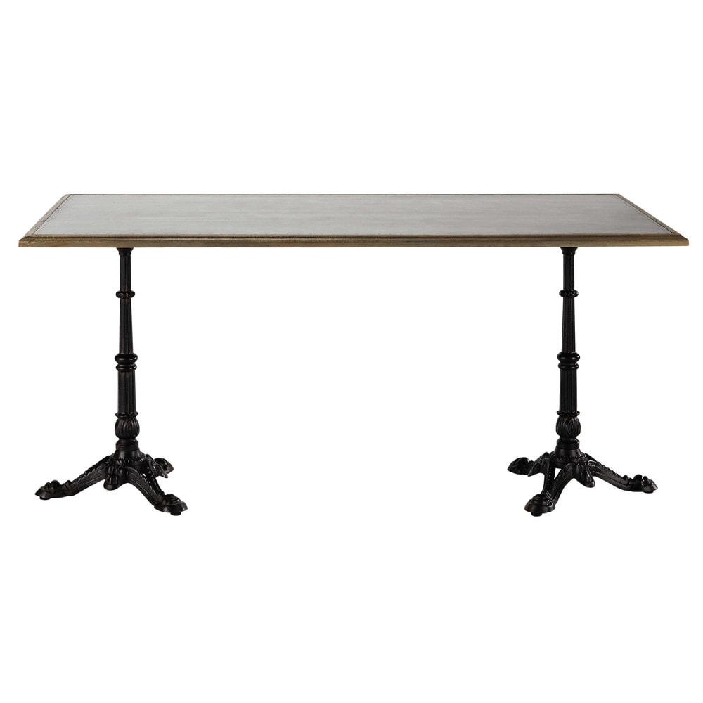 Table de salle manger en ch ne l 160 cm brasserie for Table de salle a manger 85 cm