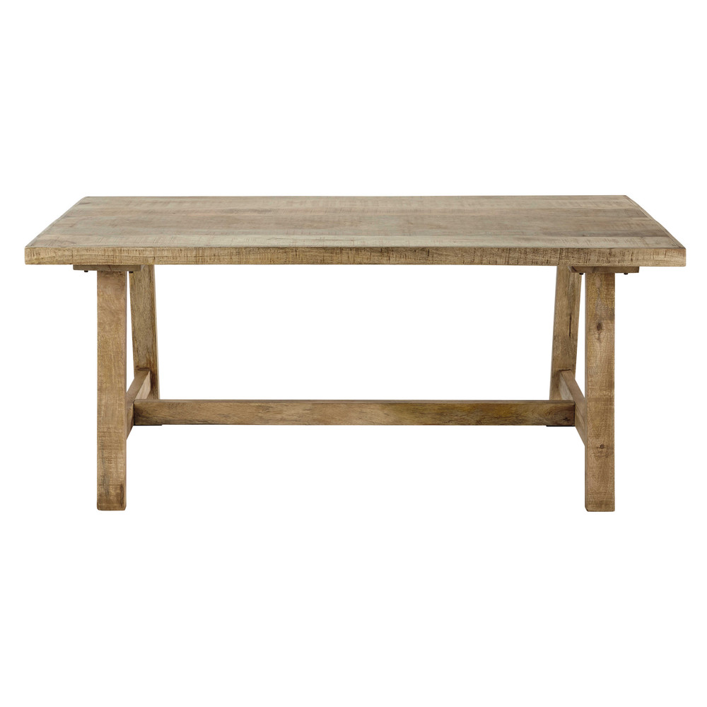 table de salle manger en manguier l 180 cm farmers