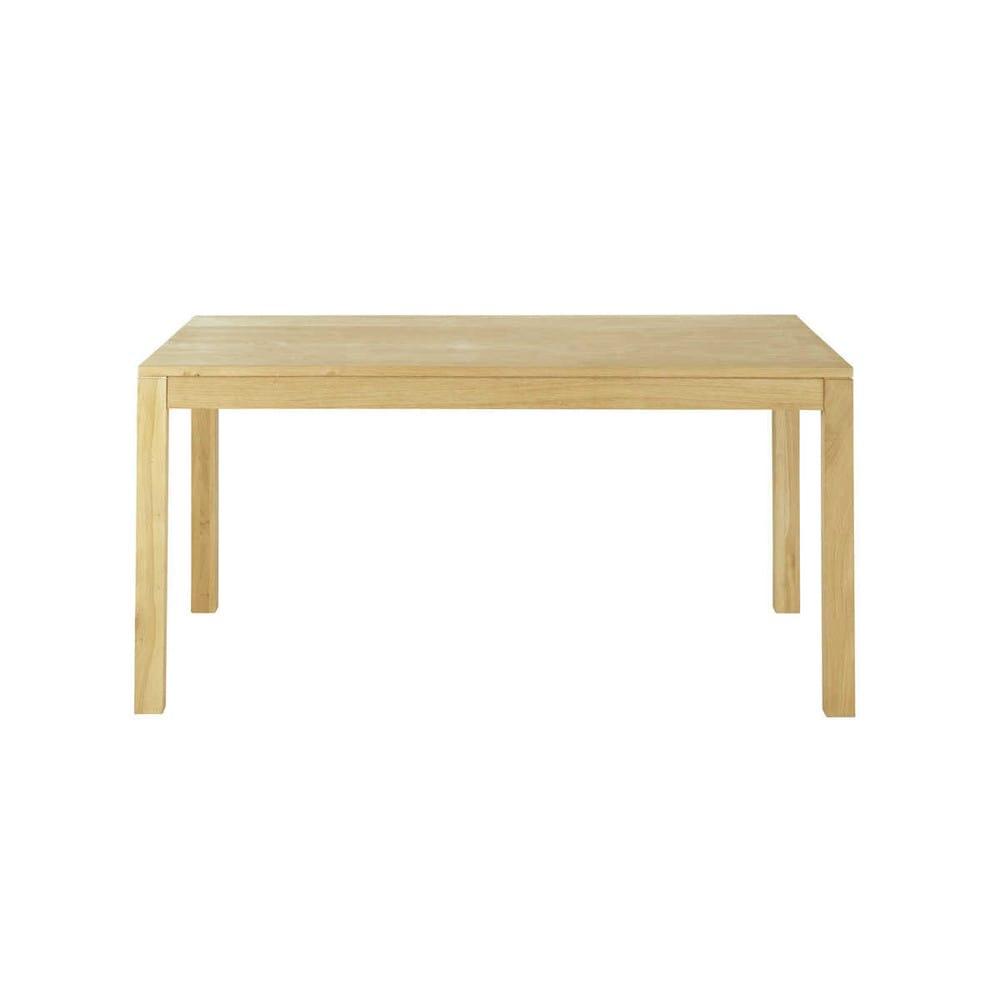table rectangulaire 160x90 hambourg maisons du monde