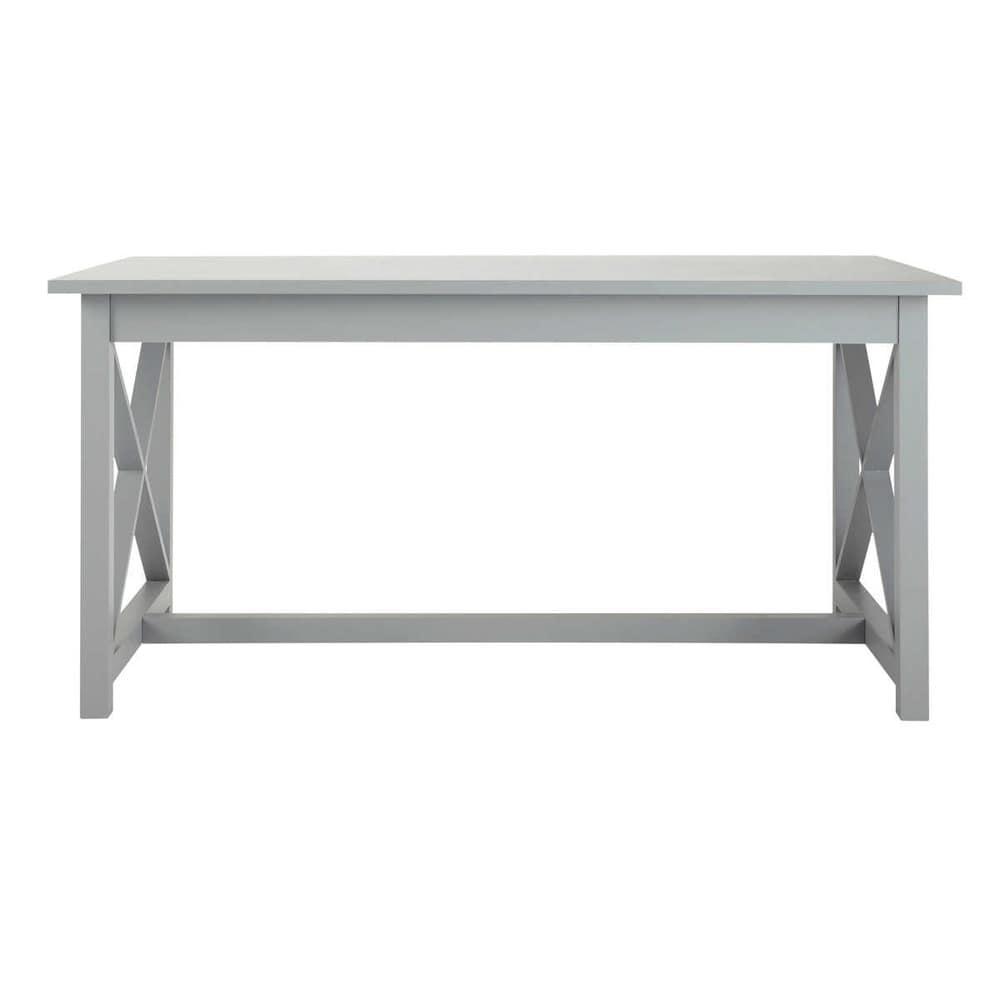 table rectangulaire grise 160 newport maisons du monde. Black Bedroom Furniture Sets. Home Design Ideas
