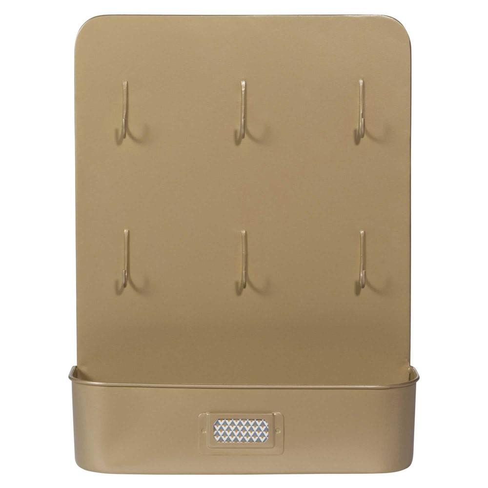 tableau cl s courrier en m tal 27 x 35 cm portobello maisons du monde. Black Bedroom Furniture Sets. Home Design Ideas