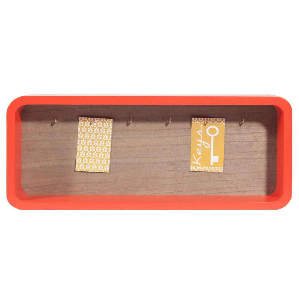 tableau cl s rouge 16 x 40 cm boho market maisons du monde. Black Bedroom Furniture Sets. Home Design Ideas