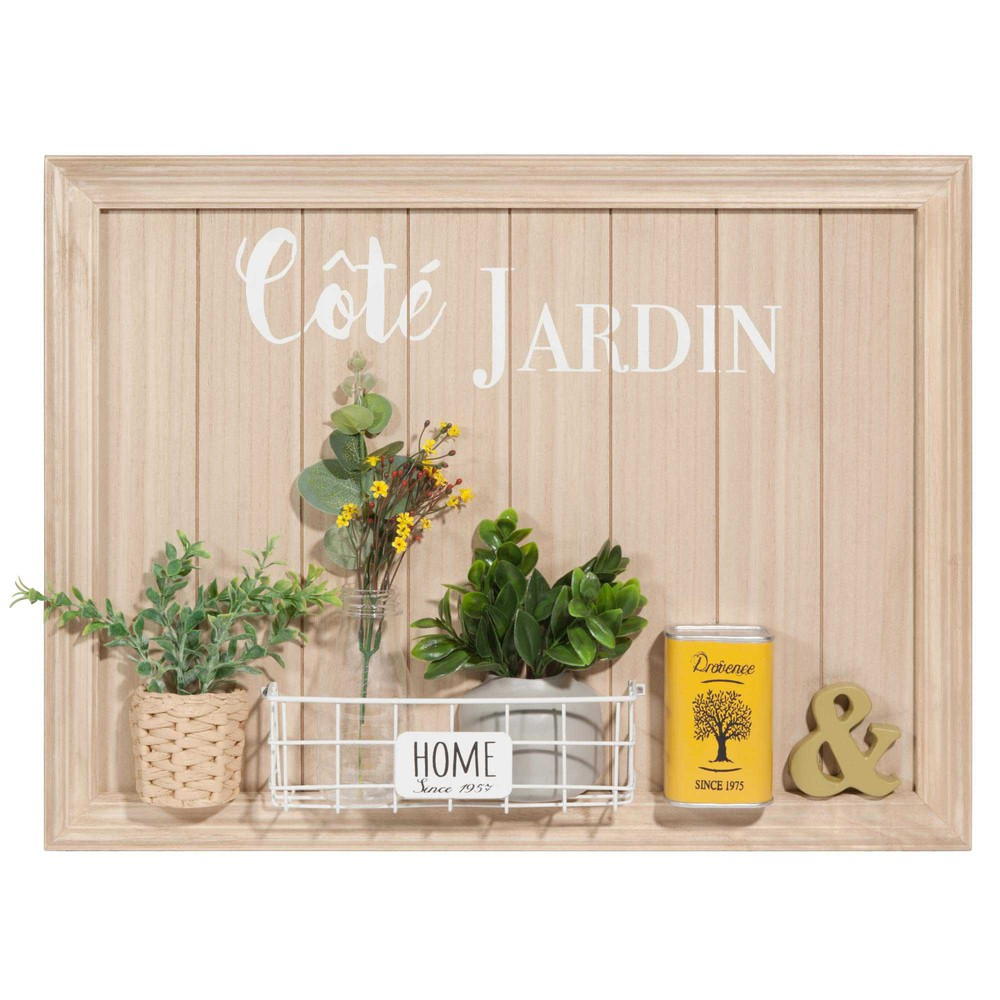 tableau jardini re 60x45cm c t jardin maisons du monde. Black Bedroom Furniture Sets. Home Design Ideas