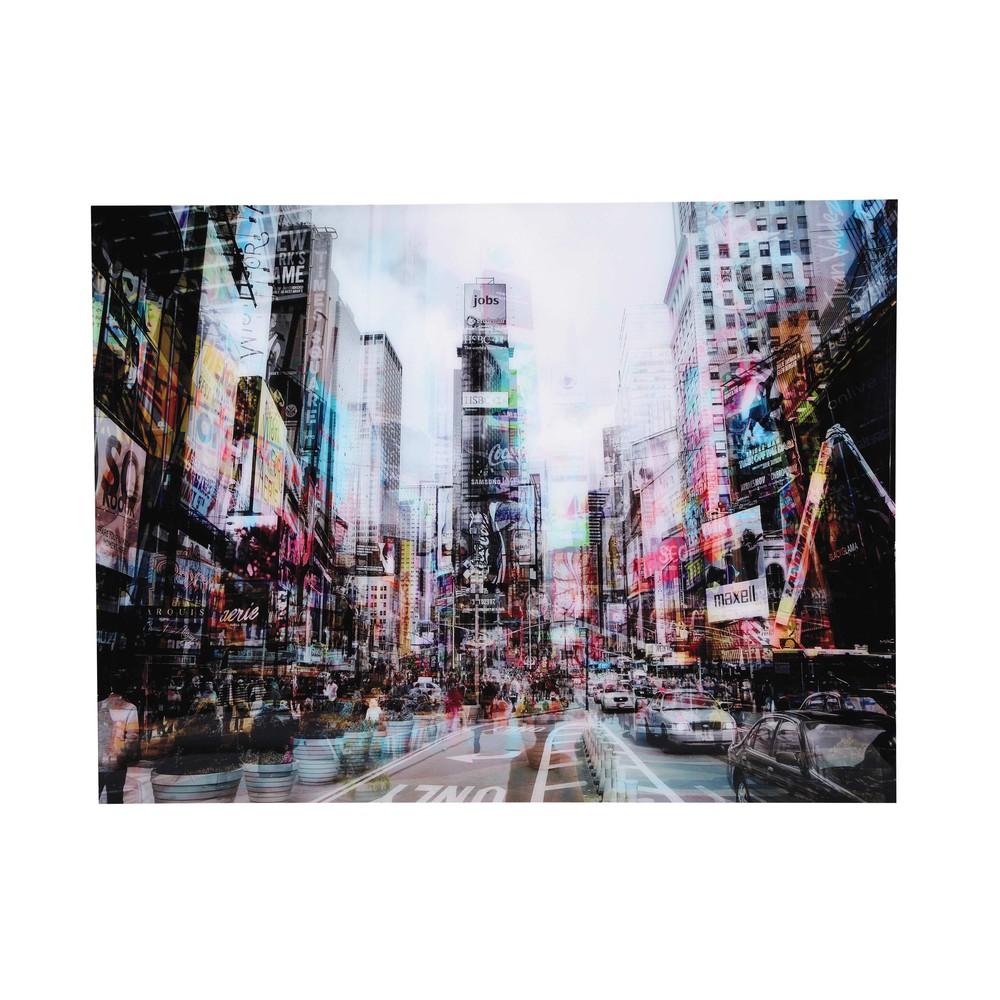 tableau new york en plexiglas 160x120 urban traffic. Black Bedroom Furniture Sets. Home Design Ideas