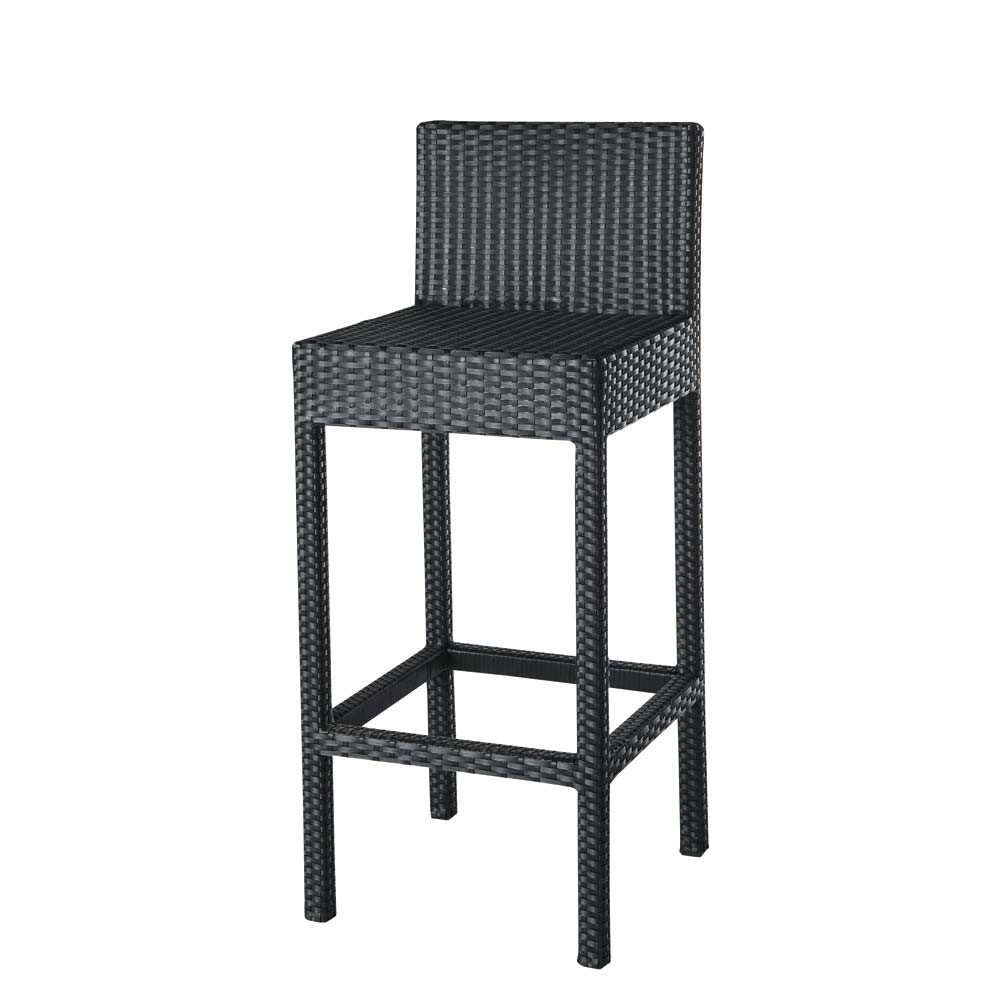 tabouret chaise de bar miami maisons du monde. Black Bedroom Furniture Sets. Home Design Ideas