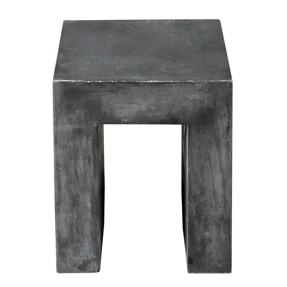 tabouret industriel maison du monde 7 tabouret effet beton en magnesie anthracite mineral 1000. Black Bedroom Furniture Sets. Home Design Ideas