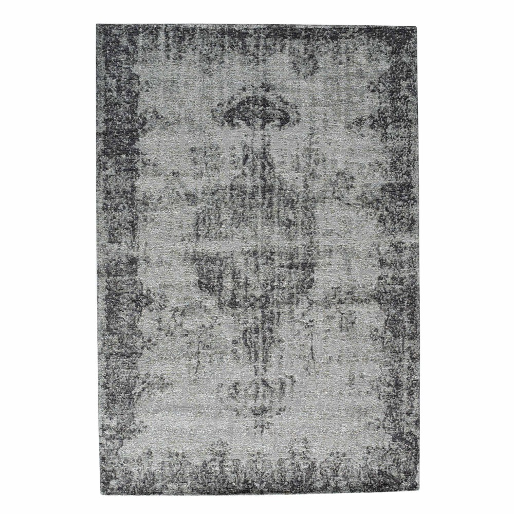 tapis poils courts cru gris 140 x 200 cm villandry maisons du monde. Black Bedroom Furniture Sets. Home Design Ideas