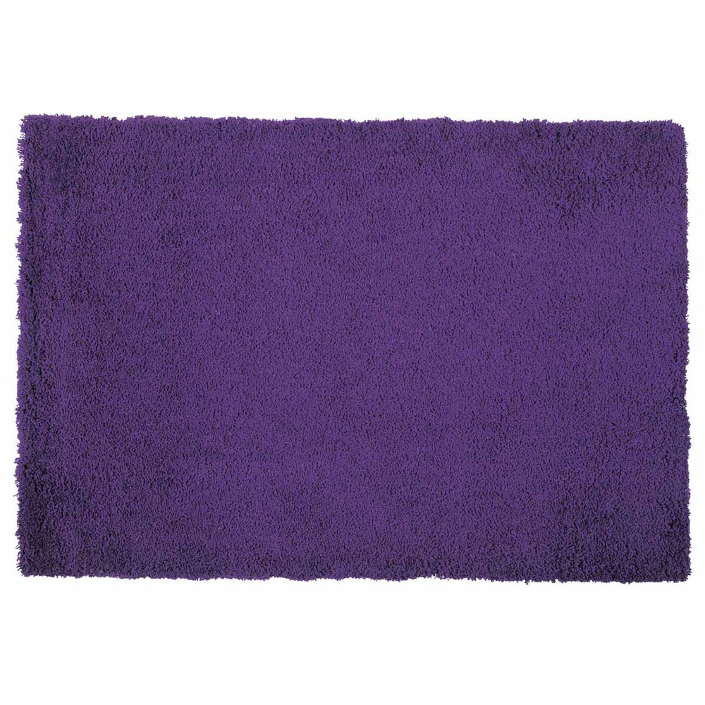 Tapis Poils Longs Mauve 120 X 180 Cm Magic Maisons Du Monde
