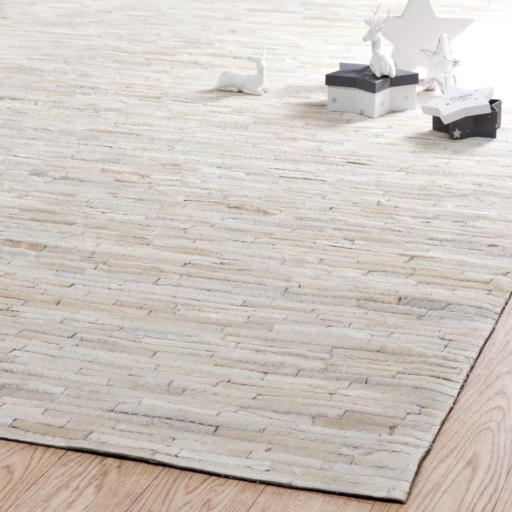 Tapis arty blanc 200x300 maisons du monde - Grand tapis pas cher ...