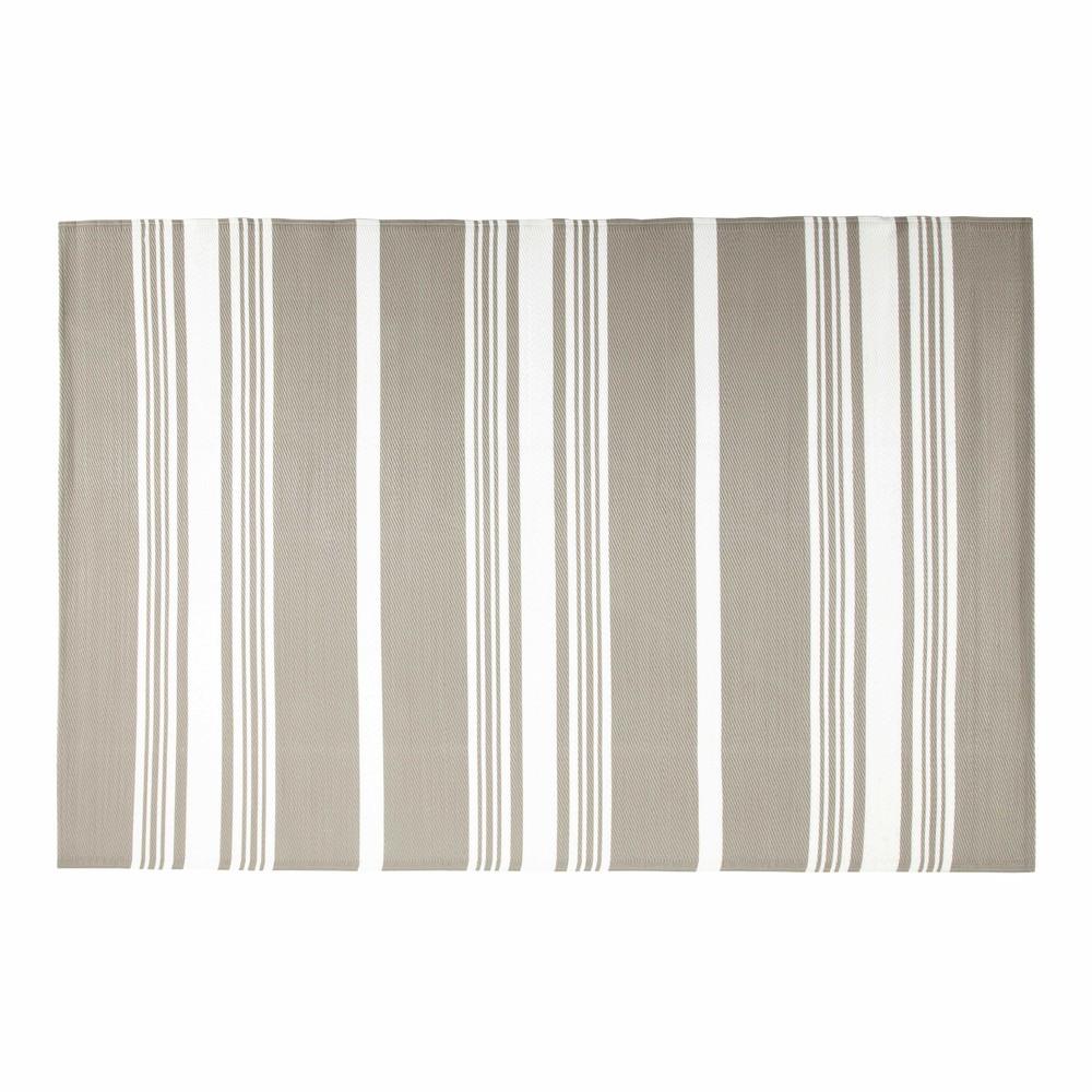 tapis d 39 ext rieur beige 180 x 270 cm transat maisons du monde. Black Bedroom Furniture Sets. Home Design Ideas
