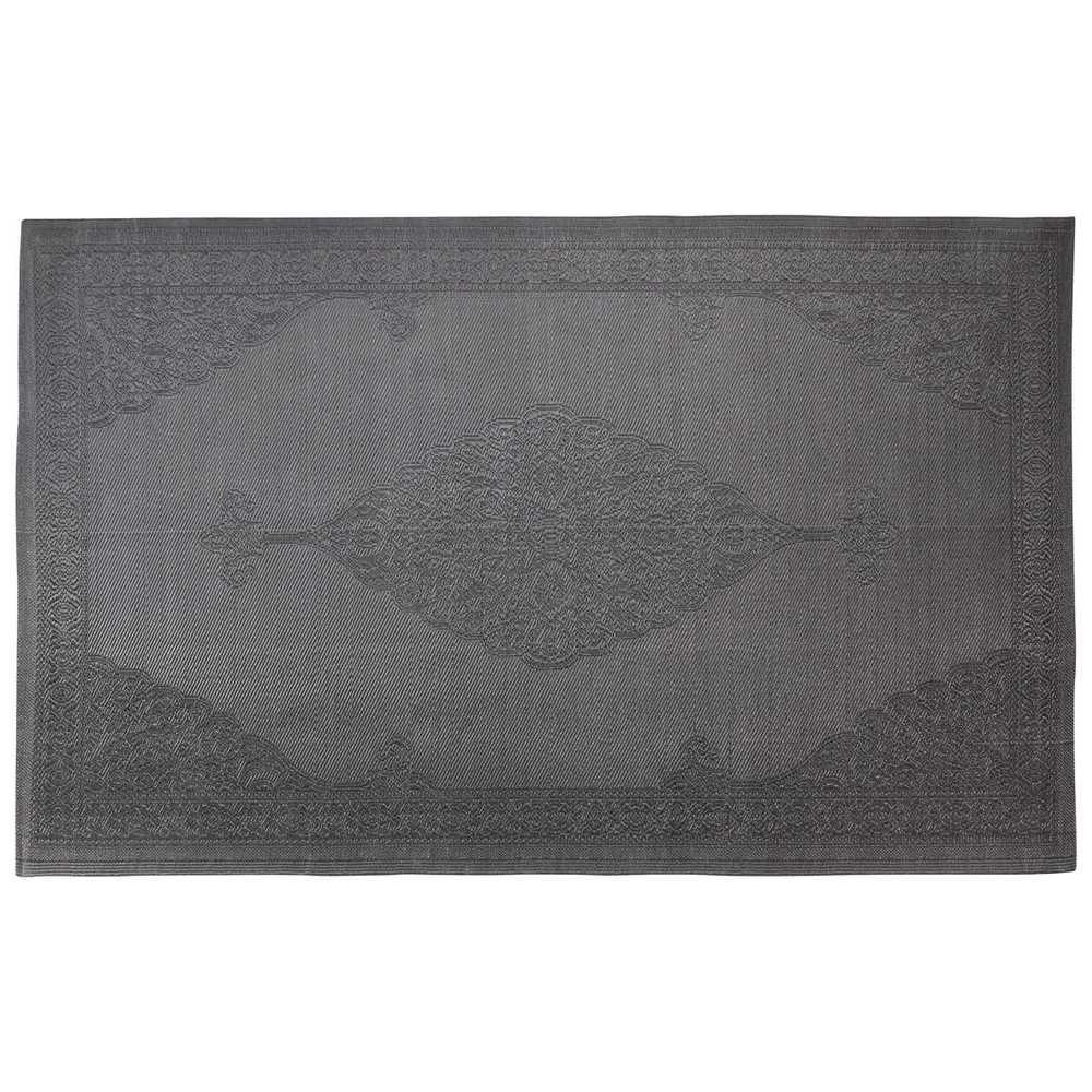 tapis d 39 ext rieur en polypropyl ne gris 180 x 270 cm ibiza maisons du monde. Black Bedroom Furniture Sets. Home Design Ideas