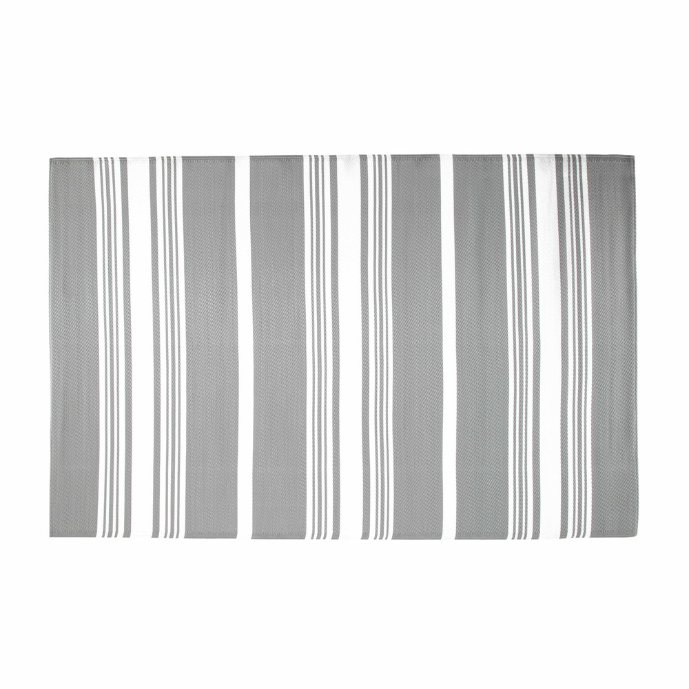 tapis d 39 ext rieur en polypropyl ne gris 180 x 270 cm transat maisons du monde. Black Bedroom Furniture Sets. Home Design Ideas