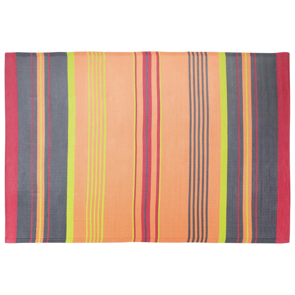 tapis d 39 ext rieur en polypropyl ne multicolore 180 x 270 cm papagayo maisons du monde. Black Bedroom Furniture Sets. Home Design Ideas