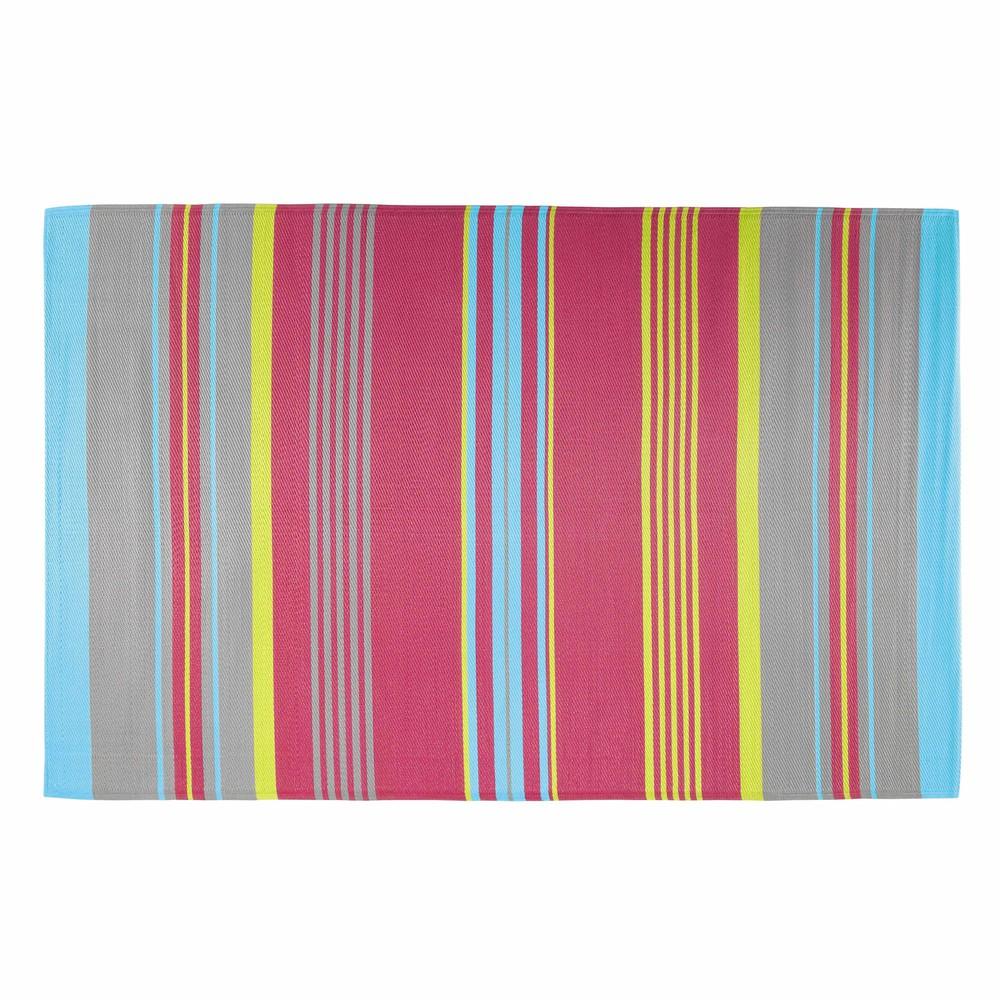 tapis d 39 ext rieur en polypropyl ne multicolore 180 x 270 cm rio maisons du monde. Black Bedroom Furniture Sets. Home Design Ideas