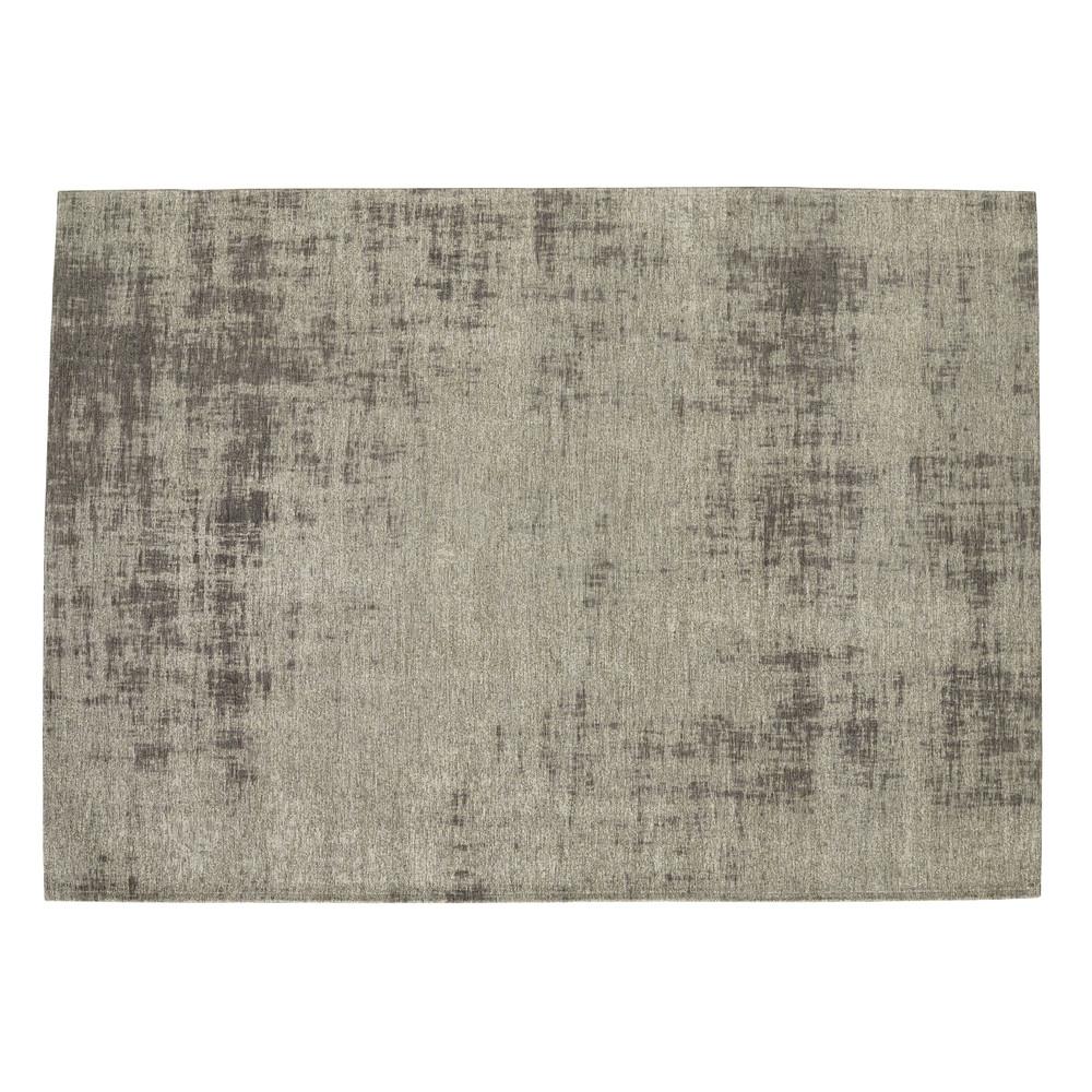 Tapis en coton gris 140 x 200 cm FEEL | Maisons du Monde