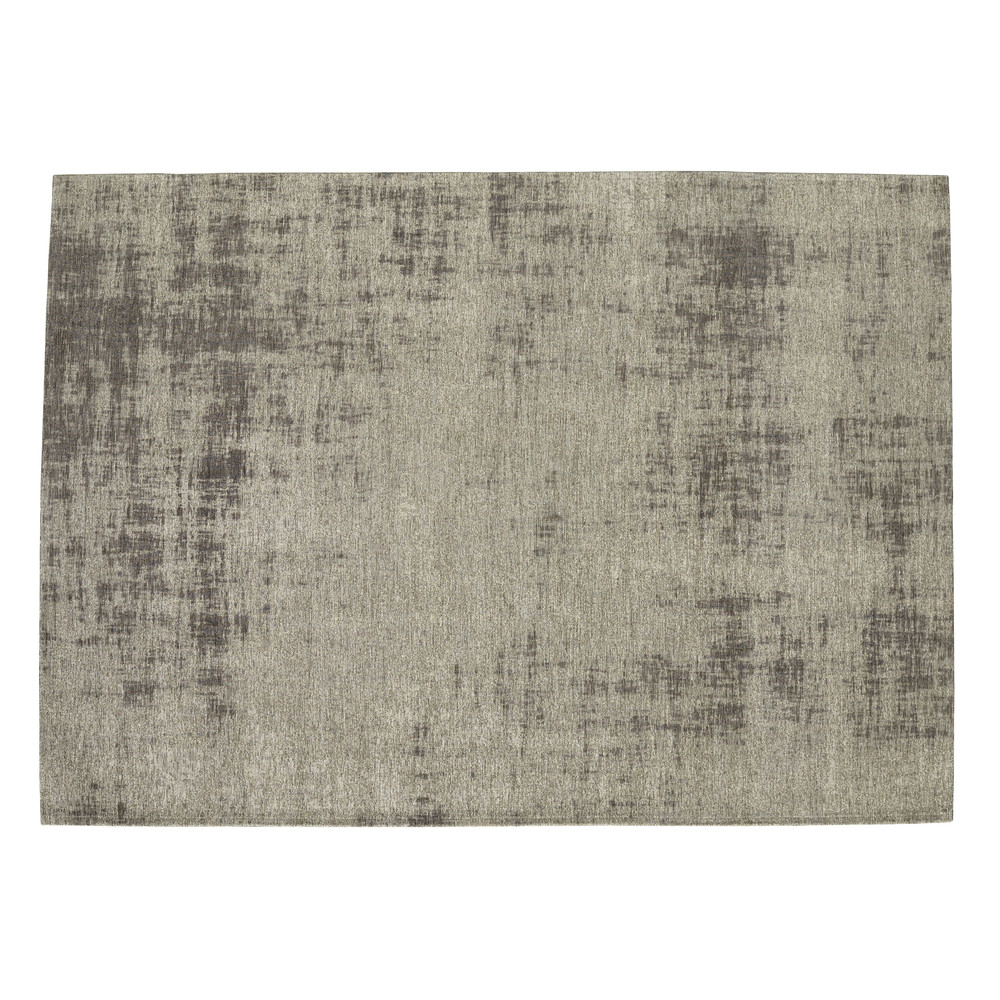 tapis en coton gris 200 x 290 cm feel maisons du monde. Black Bedroom Furniture Sets. Home Design Ideas