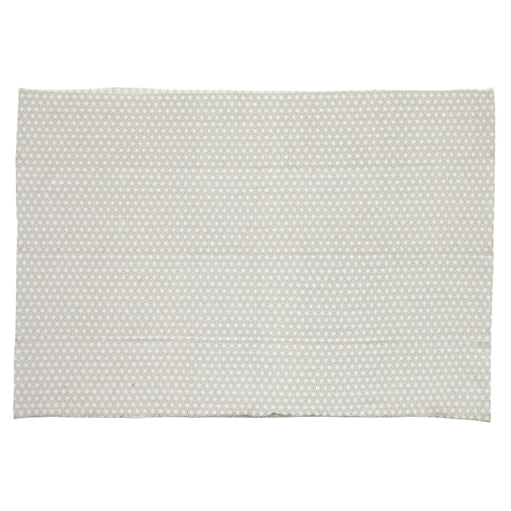 Charming Tapis 60 X 120 #12: Tapis En Coton Gris 60 X 120 Cm ORIGAMI
