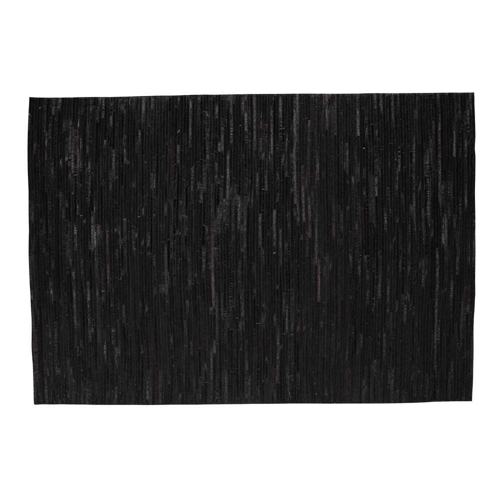 tapis en cuir 140 x 200 cm zerma maisons du monde. Black Bedroom Furniture Sets. Home Design Ideas