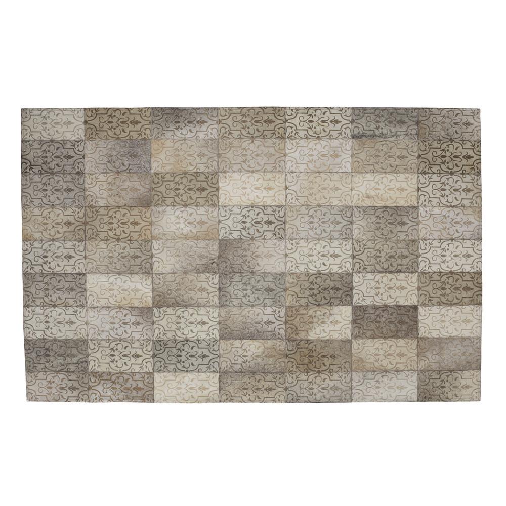 tapis en cuir 165 x 230 cm alanya maisons du monde. Black Bedroom Furniture Sets. Home Design Ideas