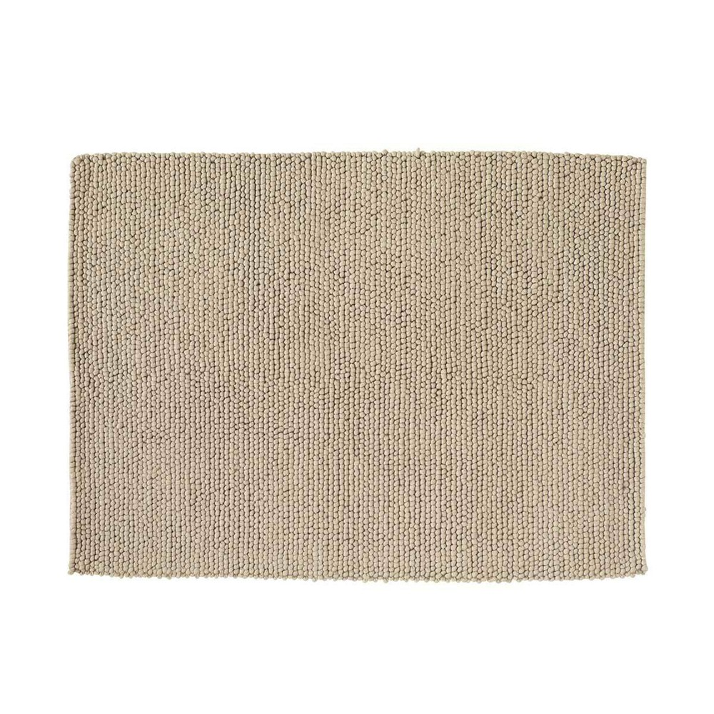 Tapis en laine beige 140 x 200 cm industry maisons du monde - Tapis laine classique ...