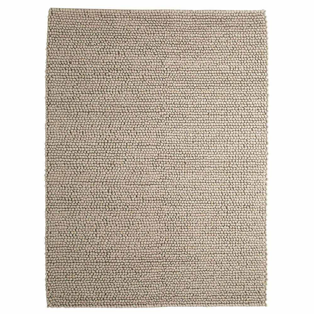 tapis en laine beige 160 x 230 cm industry maisons du monde. Black Bedroom Furniture Sets. Home Design Ideas