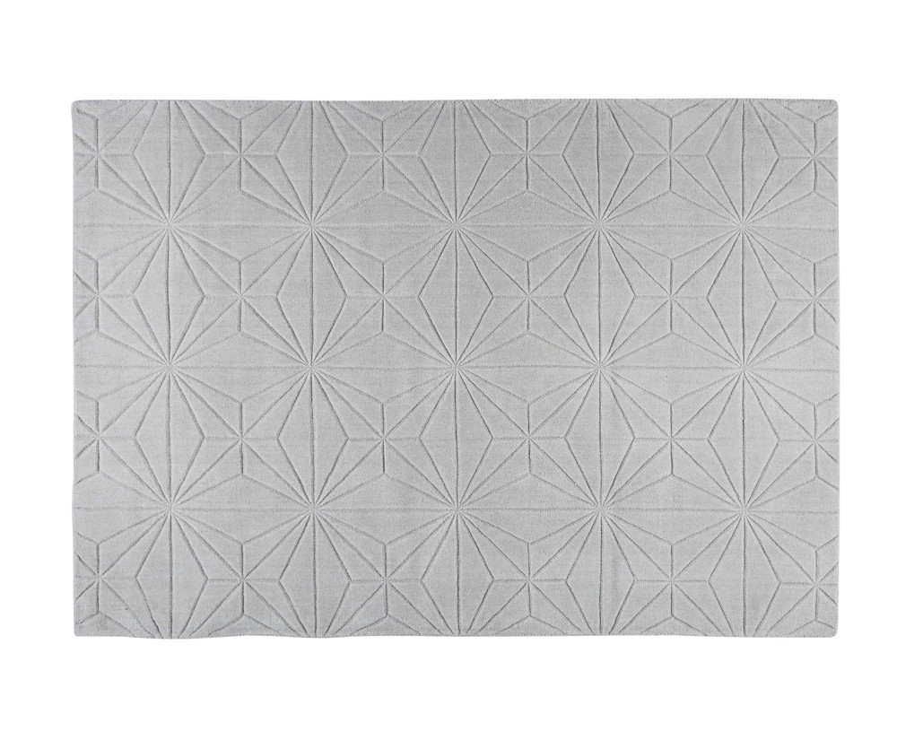 tapis en laine gris 160x230cm etoli maisons du monde. Black Bedroom Furniture Sets. Home Design Ideas