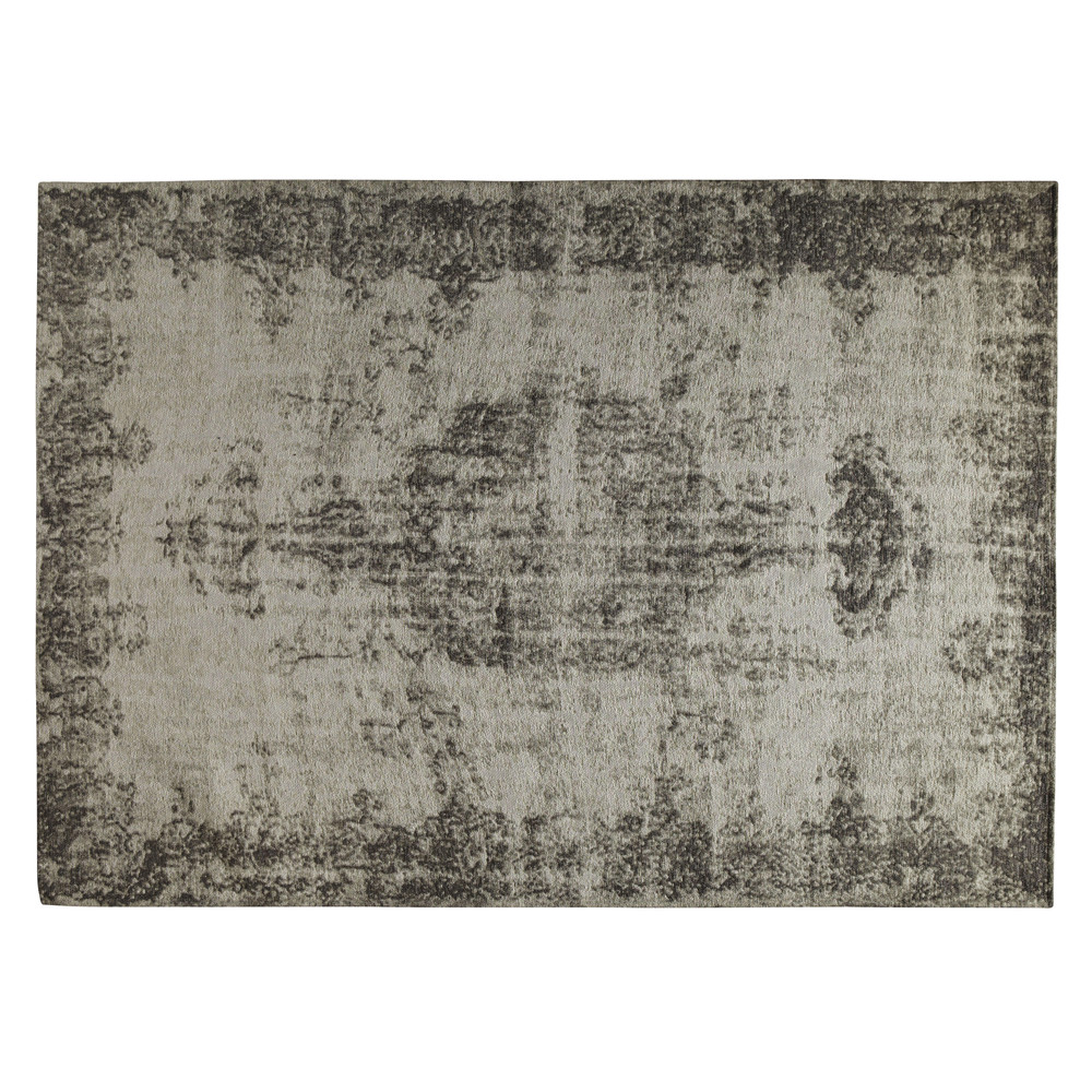 tapis gris 200 x 290 cm villandry maisons du monde. Black Bedroom Furniture Sets. Home Design Ideas