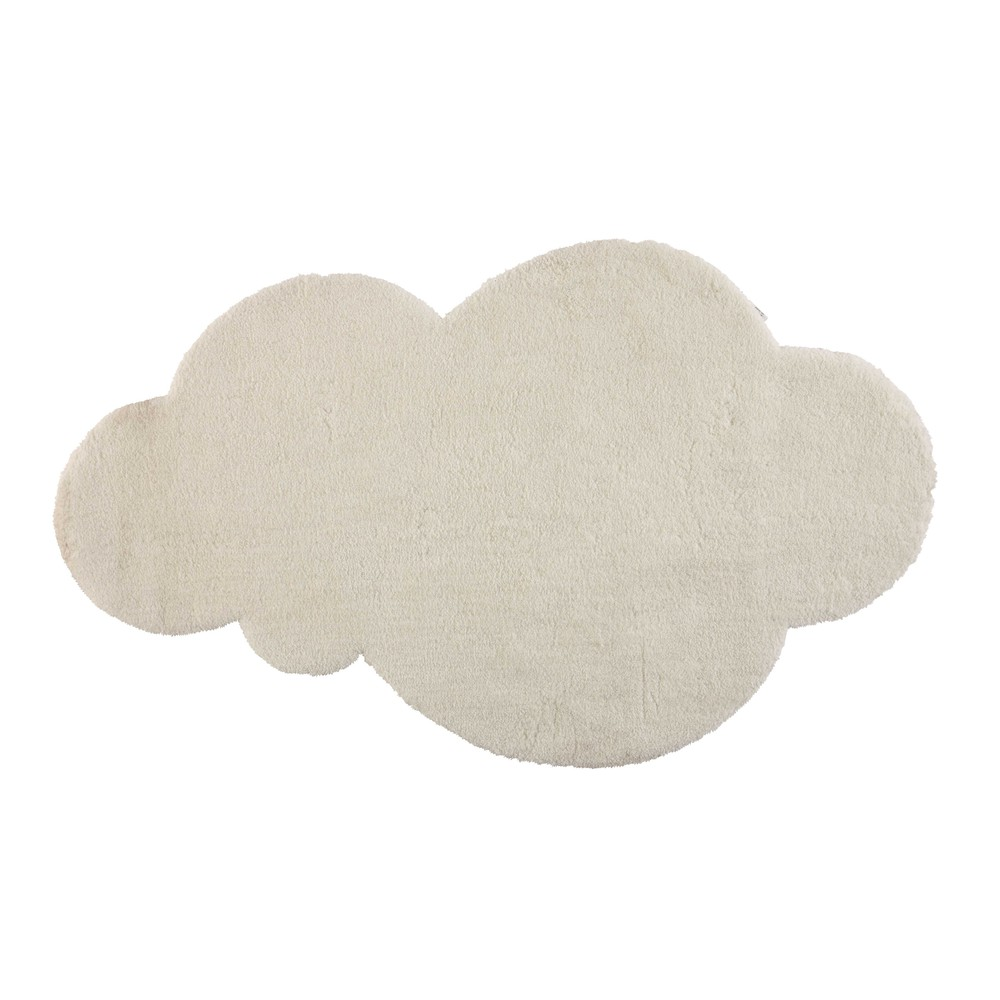 Carrelage Design tapis poil court : ... u203a Bu00e9bu00e9s u203a Tapis nuage u00e0 poils courts u00e9cru 125 x 200 cm