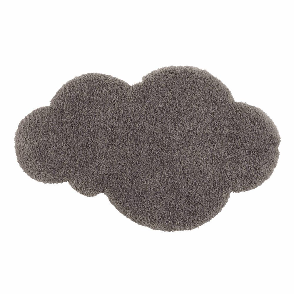Carrelage Design tapis poil court : ... u203a Bu00e9bu00e9s u203a Tapis nuage u00e0 poils courts gris 60 x 100 cm