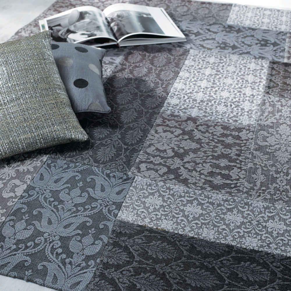 tapis patchwork couloir maisons du monde. Black Bedroom Furniture Sets. Home Design Ideas
