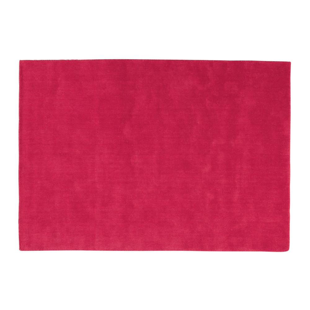 Tapis Soft Rouge 250x350 Maisons Du Monde