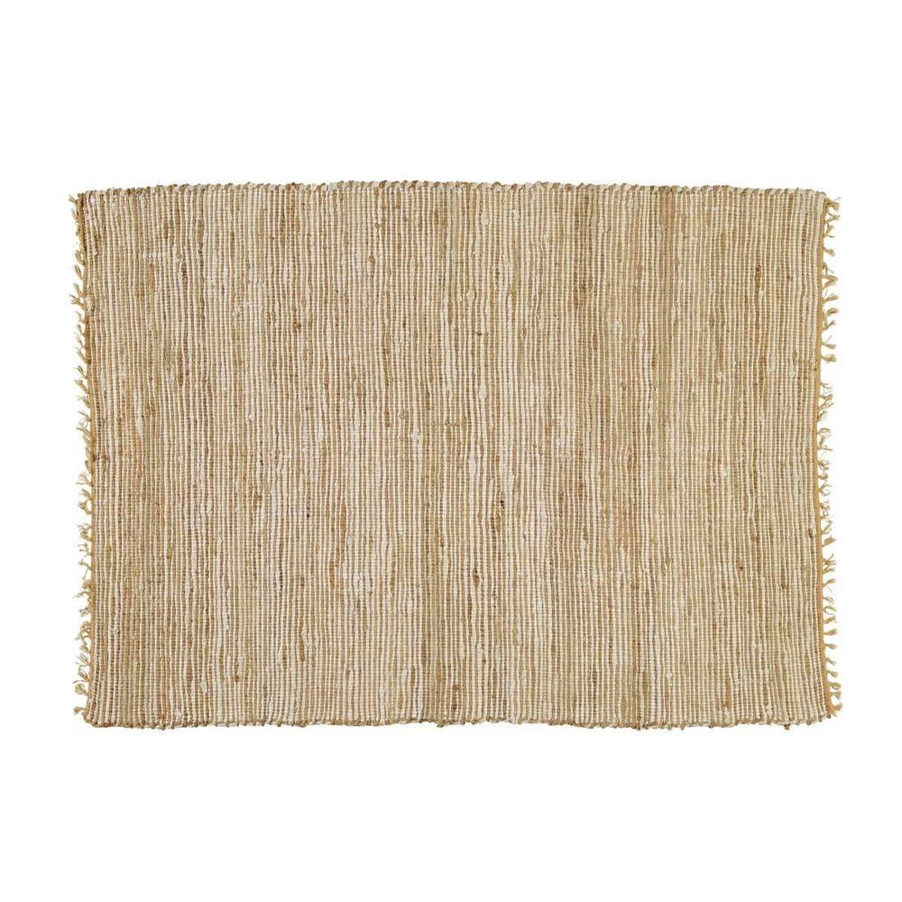 tapis tress en coton et jute 200 x 300 cm lodge maisons du monde. Black Bedroom Furniture Sets. Home Design Ideas