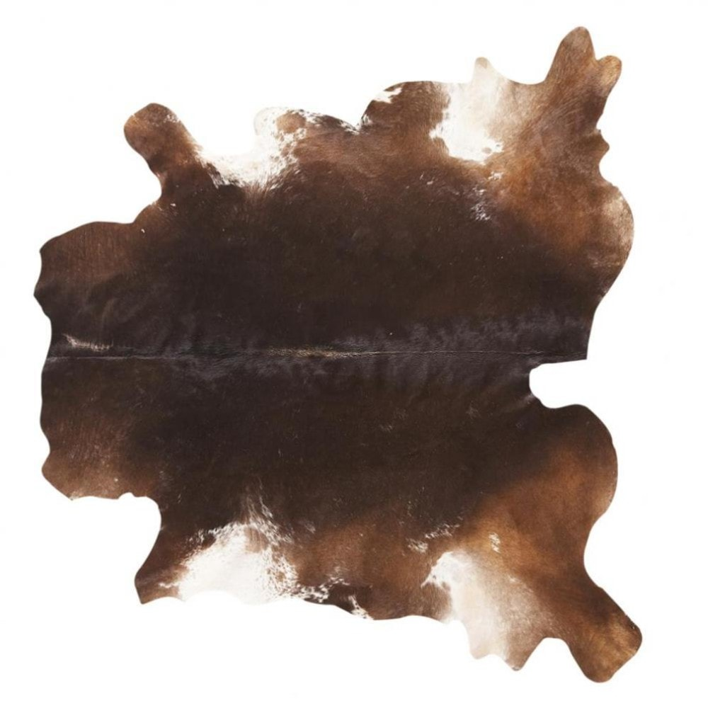 tapis vache brown maisons du monde. Black Bedroom Furniture Sets. Home Design Ideas