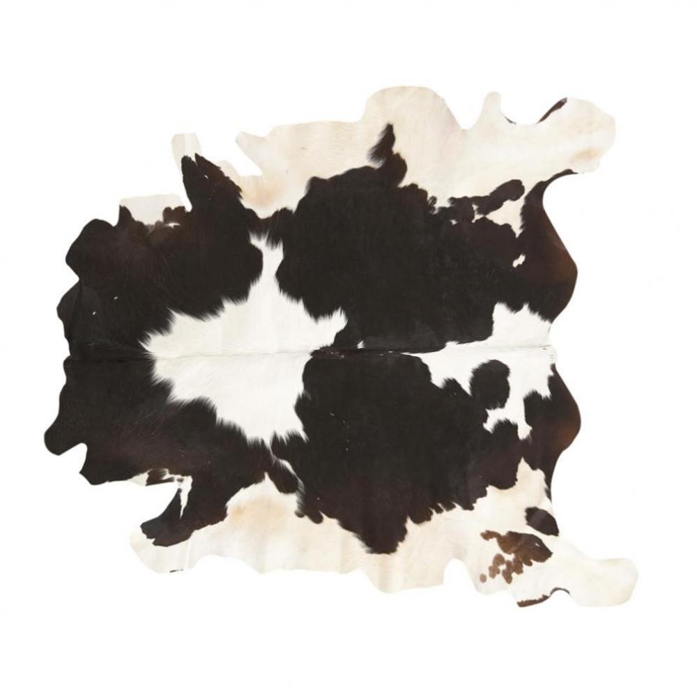 tapis vache noir maisons du monde. Black Bedroom Furniture Sets. Home Design Ideas