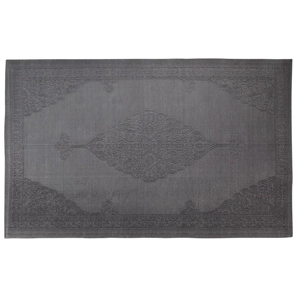 Tappeto grigio da esterno in polipropilene 180 x 270 cm - Tappeto esterno ...