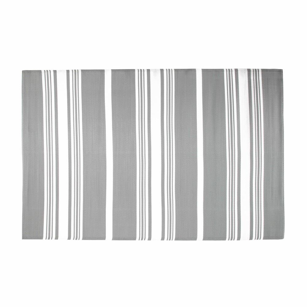 Tappeto grigio da esterno in tessuto 180 x 270 cm transat - Tappeto esterno ...