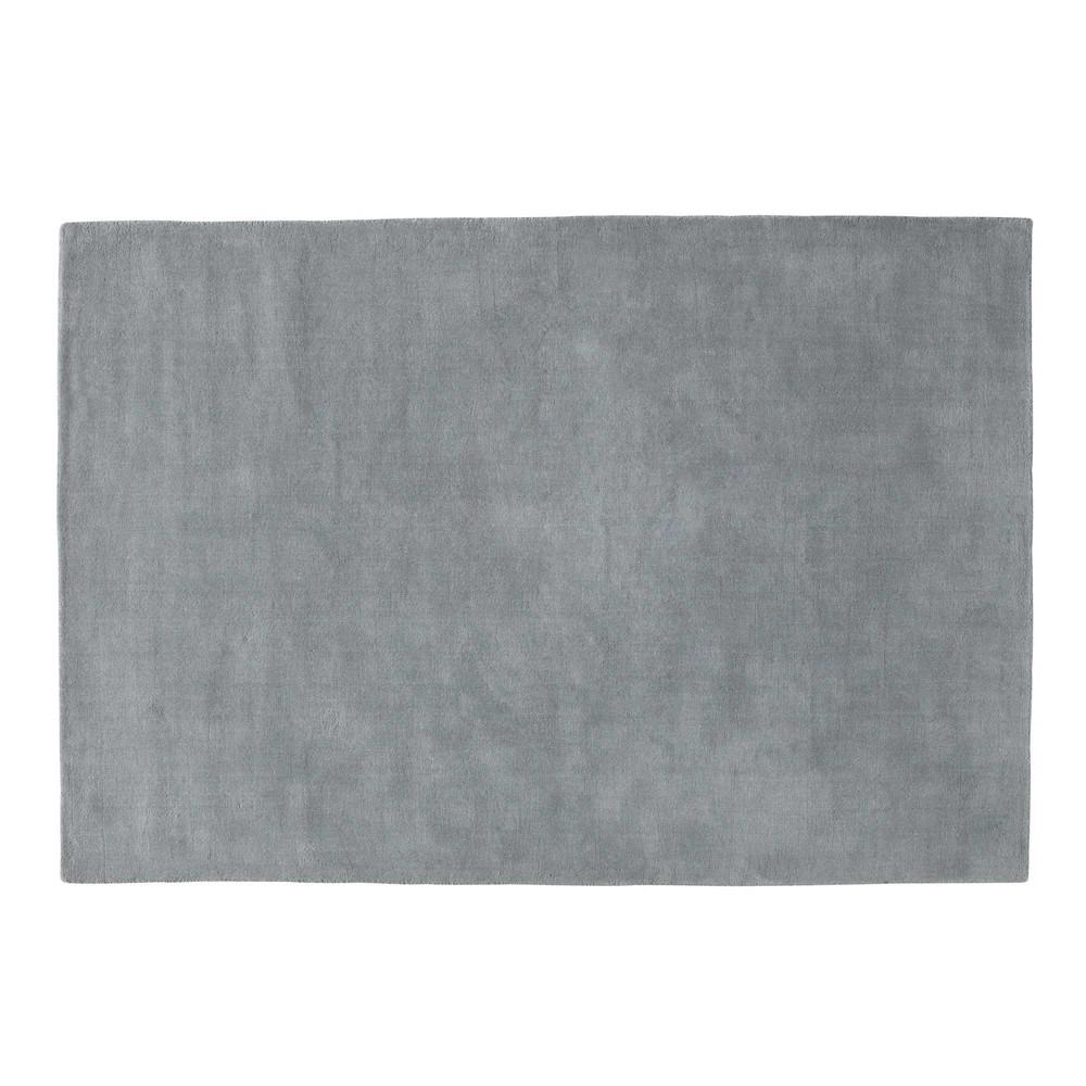 Tappeto soft blu grigio antico 230 x 160 maisons du monde - Tappeto pelo raso ...