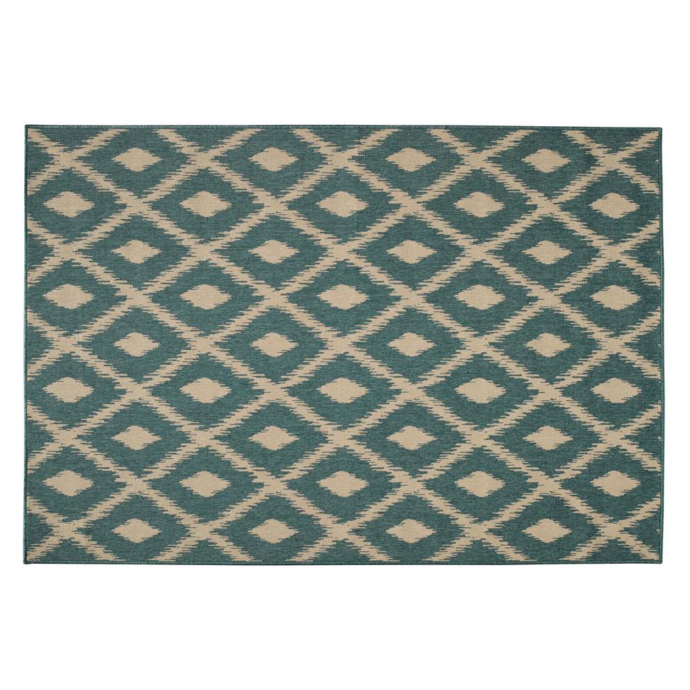 Tappeto verde da esterno in polipropilene 160 x 230 cm - Tappeti da esterno maison du monde ...