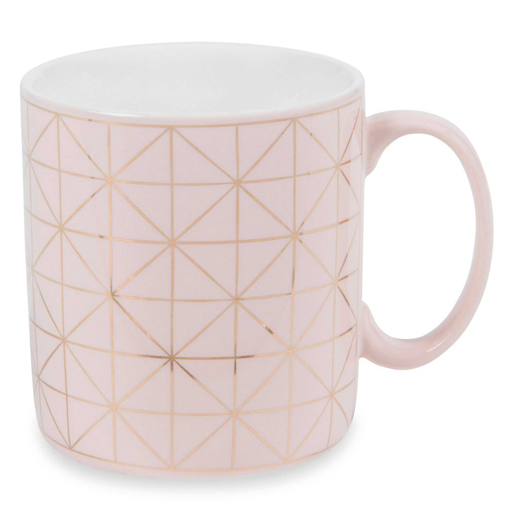 Tasse aus steingut rosa modern copper maisons du monde - Tasse maison du monde ...
