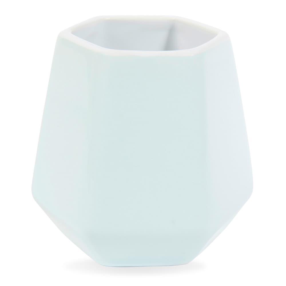 tasse en fa ence vert d 39 eau origami maisons du monde. Black Bedroom Furniture Sets. Home Design Ideas
