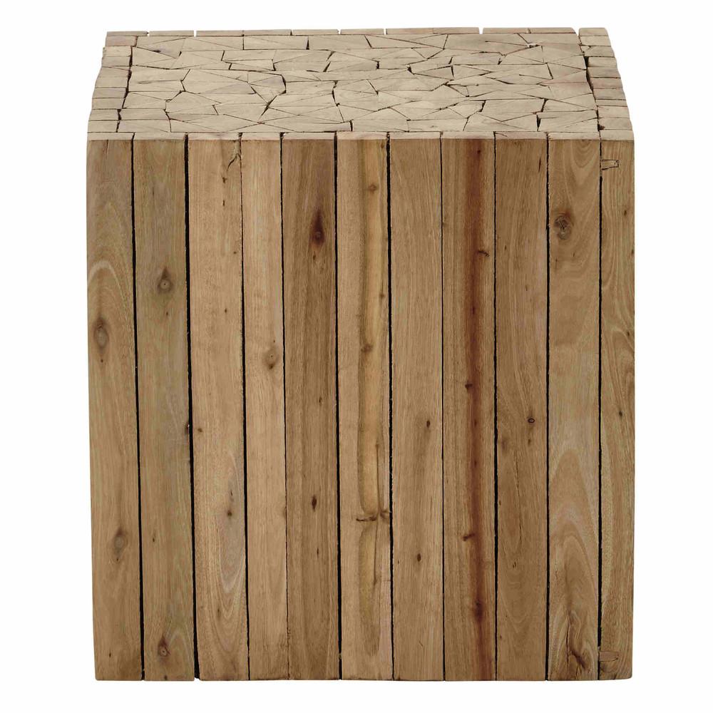 Tavolino da divano in legno l 35 cm alpin maisons du monde for Maison du monde tavolini da salotto