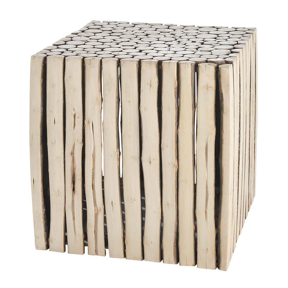 ... › Tavolini salotto › Tavolino da salotto in legno L 38 cm RIVAGE