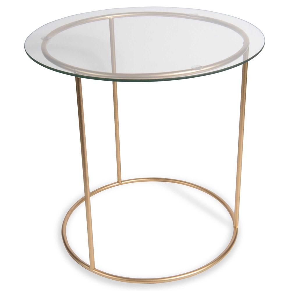 Tavolino da salotto in metallo marbella maisons du monde for Maison du monde tavolini da salotto