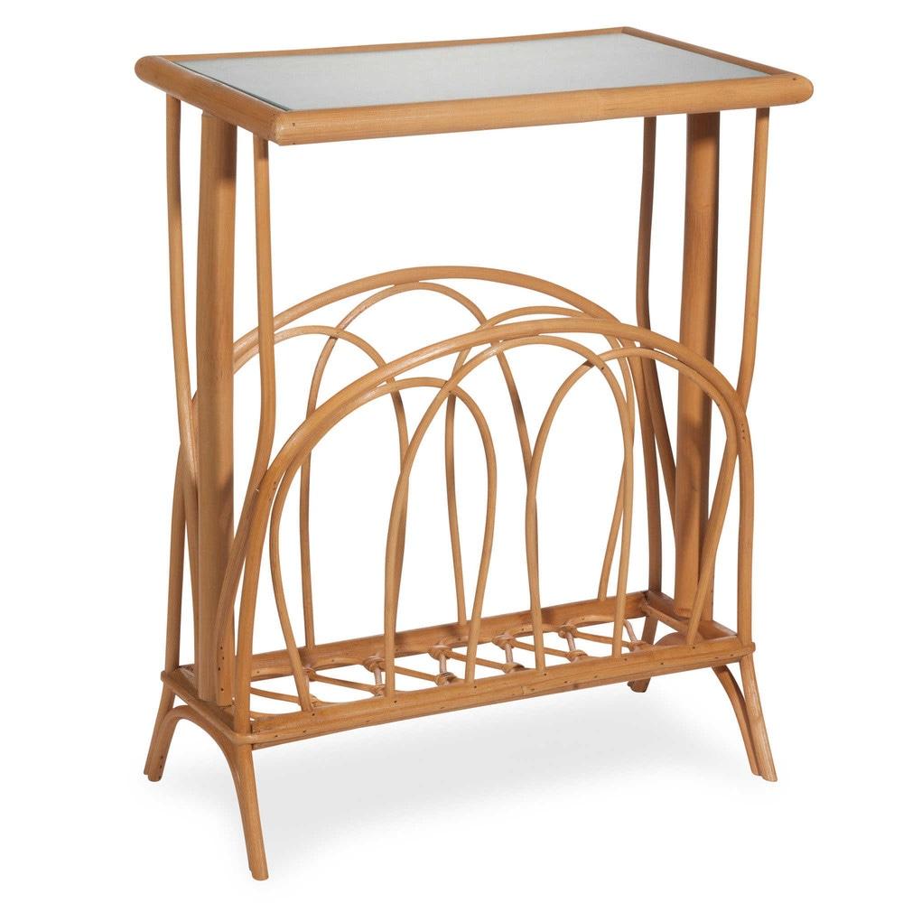 Tavolino da salotto in rattan l 40 cm pulong maisons du for Maison du monde tavolini da salotto