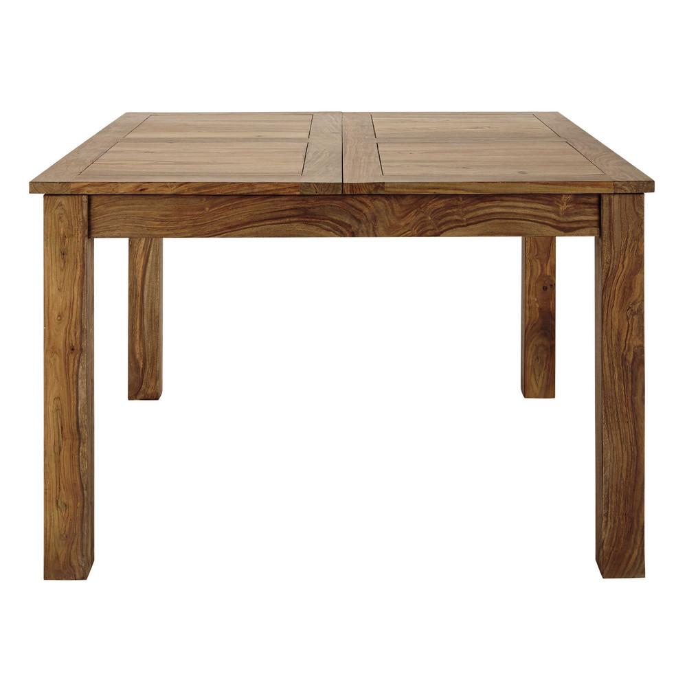Tavolo allungabile in massello di legno di sheesham per for Tavolo allungabile sala da pranzo