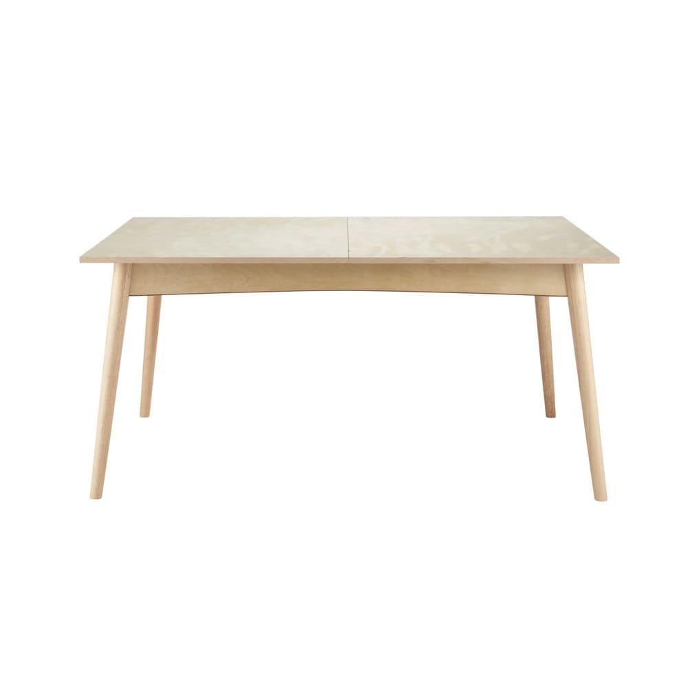 Tavolo allungabile per sala da pranzo in legno l 160 cm for Tavolo allungabile sala da pranzo