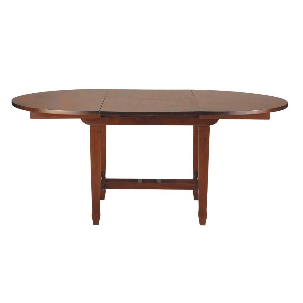 Tavolo allungabile per sala da pranzo in massello di tek for Tavolo allungabile sala da pranzo