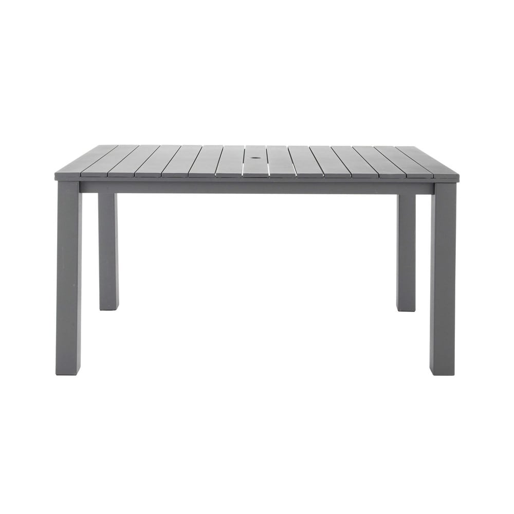 Tavolo da giardino in metallo l 150 cm la ciotat maisons for Tavolo giardino metallo