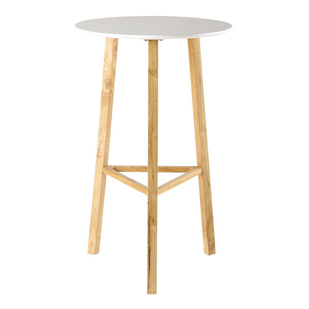 ... rotondo alto bianco per sala da pranzo D 65 cm Milo  Maisons du Monde