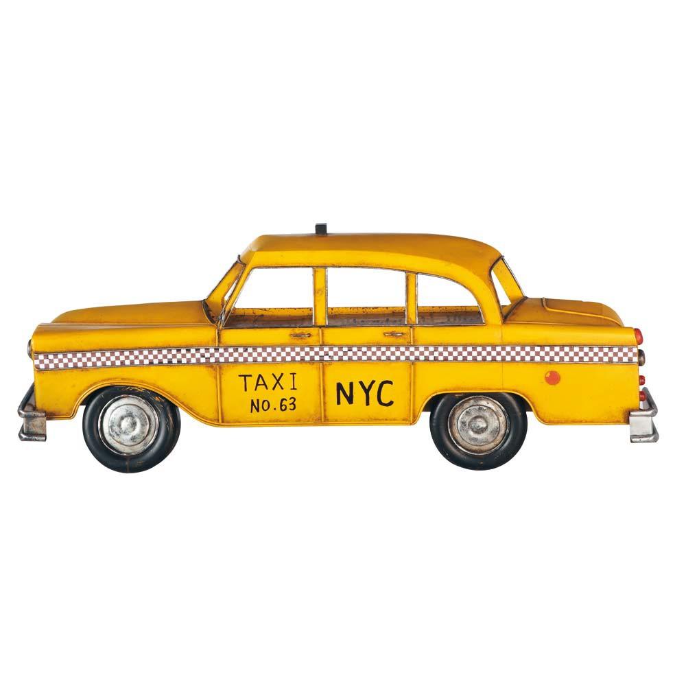 taxi jaune ny maisons du monde. Black Bedroom Furniture Sets. Home Design Ideas